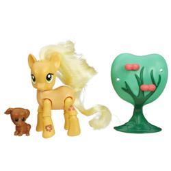 Figurina My Little Pony Applejack la Cules Mere