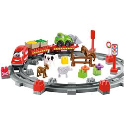 Set Constructii Abrick Country Train