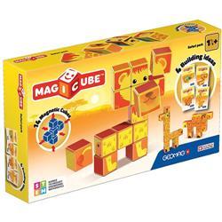 Set Constructie Magnetic Magicube Safari Park