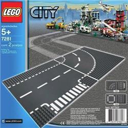 LEGO City Curba si Intersectie 7281