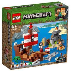 LEGO Minecraft Aventura Corabiei de Pirati, 21152