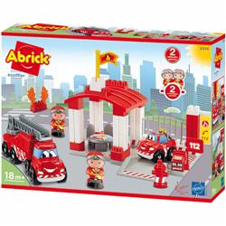 Joc de Construit Statie de Pompieri Abrick