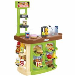 Jucarie educativa cu 23 piese Fast Food Market, Colectia 100% Chef