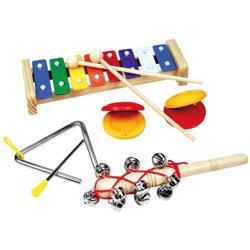 Set 4 Instrumente Muzicale cu Xilofon