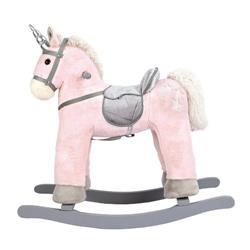Balansoar din Lemn Unicorn Roz