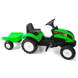 Tractor cu Remorca Garden Master Green