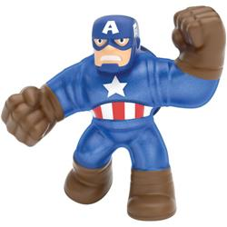 Figurina Marvel Heroes of Goo Jit Zu Captain America